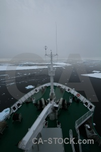 Crystal sound antarctica cruise sea snow vehicle.