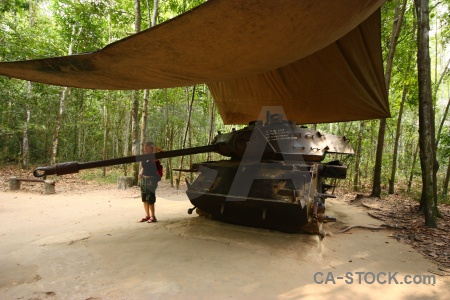 Cu chi southeast asia vietnam tank ben dinh.