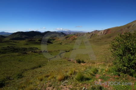 Cuesta del obispo altitude landscape quebrada de escoipe valley.