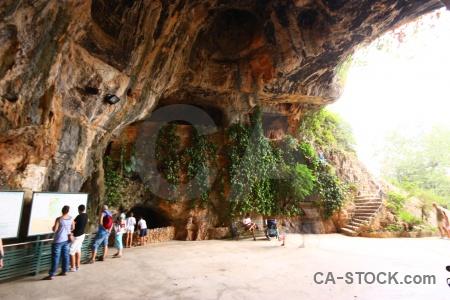 Cueva de las calaveras rock benidoleig javea step.