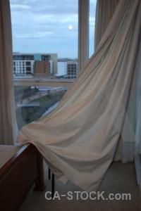 Curtain cloth object.