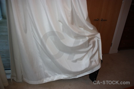 Curtain object gray cloth.