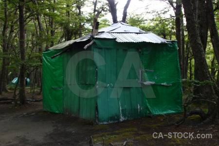 Day 2 circuit trek campsite tent patagonia.