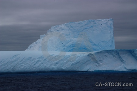 Day 4 iceberg ice cloud sea.