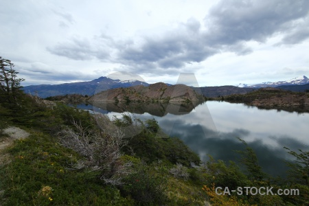 Day 4 landscape trek water laguna los patos.
