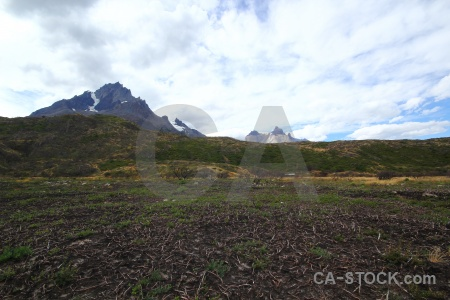 Day 4 trek patagonia landscape sky.
