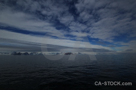 Day 5 antarctica cruise sky sea marguerite bay.