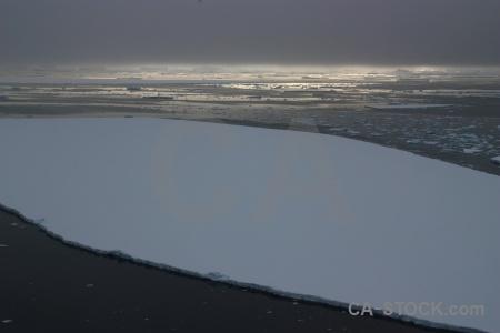Day 6 cloud crystal sound antarctic peninsula water.