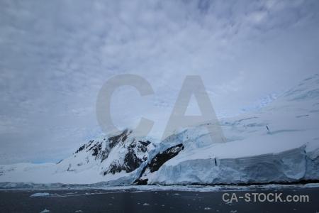 Day 6 ice antarctica snowcap cruise.