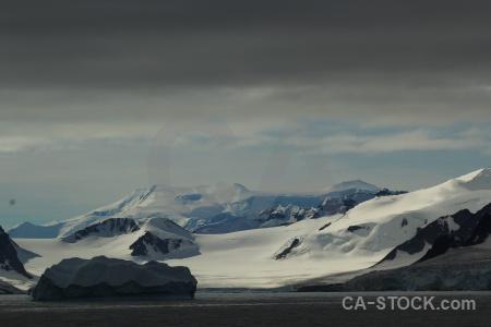 Day 6 mountain antarctic peninsula sea marguerite bay.