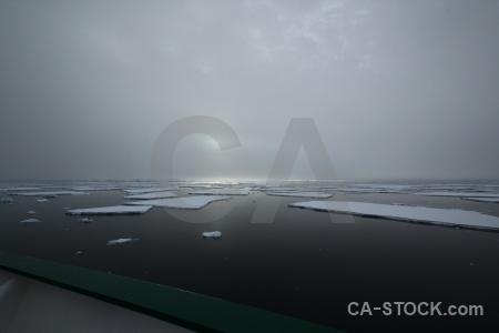 Day 6 snow cloud sea ice adelaide island.