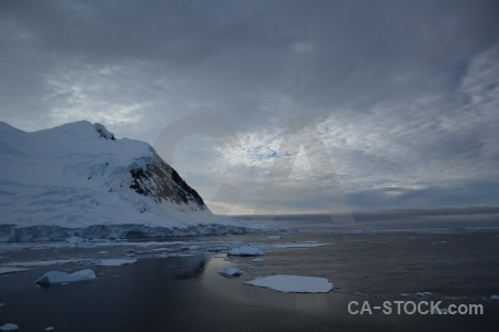 Day 6 snow ice south pole antarctic peninsula.