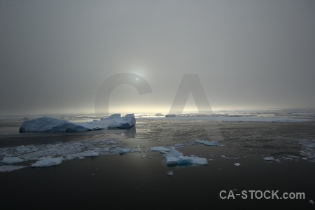 Day 6 south pole iceberg antarctic peninsula snow.