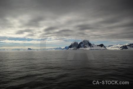 Day 6 water snowcap south pole mountain.