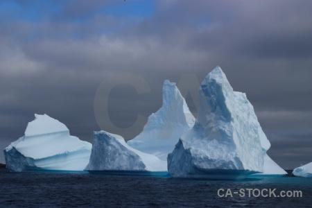 Day 8 antarctica cruise sky antarctic peninsula iceberg.