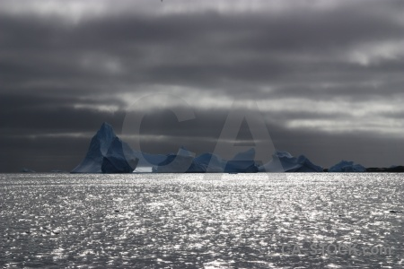 Day 8 antarctica sky water south pole.