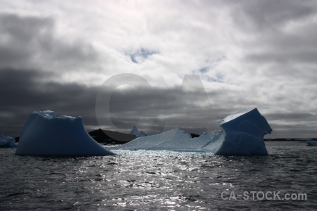 Day 8 water antarctic peninsula ice cloud.