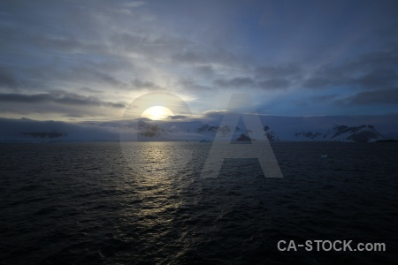 Day 8 wilhelm archipelago south pole antarctic peninsula sun.