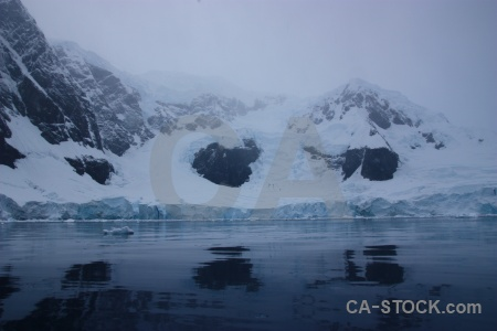 Day 9 antarctica mountain astudillo glacier cruise.