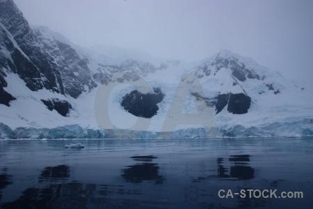 Day 9 antarctica mountain astudillo glacier cruise.