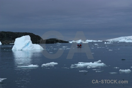 Debenham islands dinghy antarctica antarctic peninsula cruise.