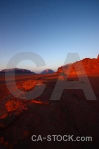Desert bedouin jordan rock western asia.