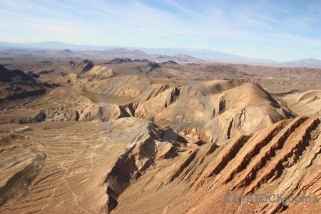 Desert brown landscape mountain rock.
