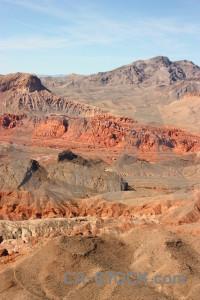 Desert brown rock landscape mountain.