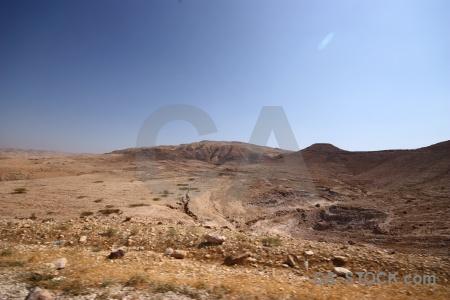 Desert middle east jordan landscape western asia.