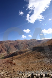 Desert mountain cloud altitude arid.