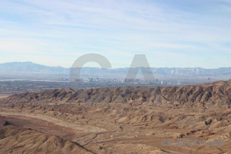 Desert mountain landscape white rock.