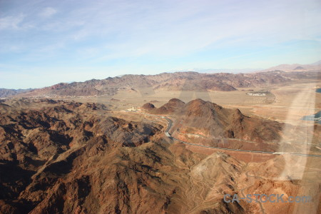 Desert mountain rock landscape brown.