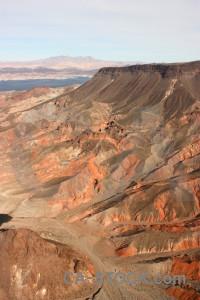 Desert mountain rock landscape orange.
