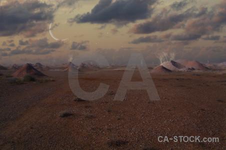 Desert premade alien worlds fantasy.