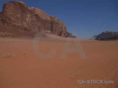 Desert rock asia jordan wadi rum.