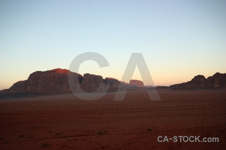 Desert rock jordan bedouin wadi rum.