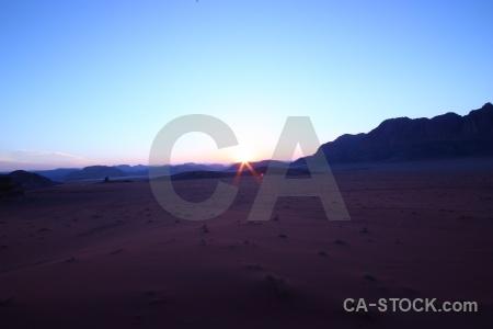 Desert sand mountain asia landscape.