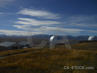 Dome mount john telescope south island astronomy.