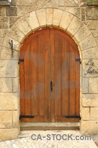Door javea wood stone texture.