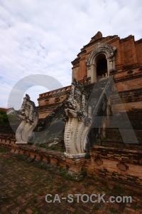 Dragon temple watchediluang varaviharn wat chedi luang asia.