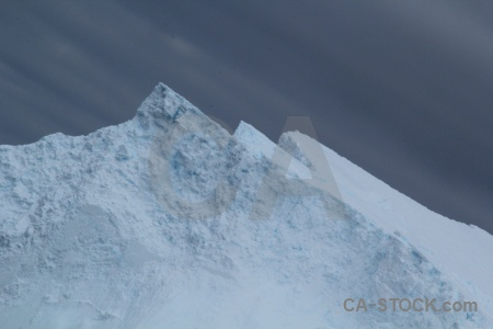 Drake passage cloud sky iceberg day 4.