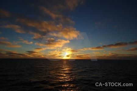Drake passage day 4 antarctica cruise sun sky.