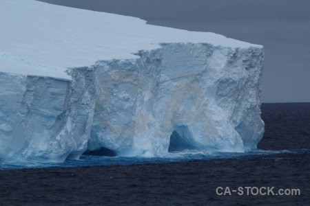 Drake passage iceberg cloud water sea.