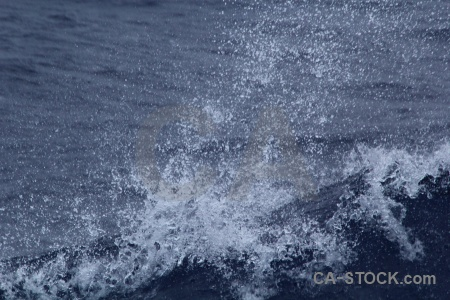Drake passage wake spray water antarctica cruise.