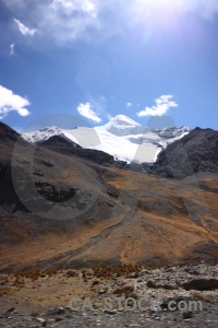 Dry altitude snowcap tibet snow.