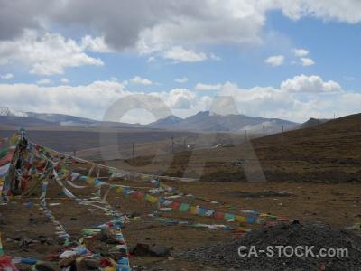Dry asia buddhism himalayan sky.