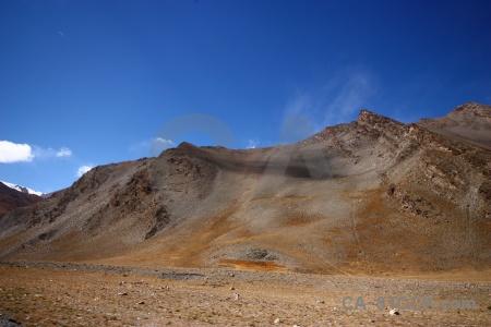 Dry plateau tibet desert altitude.