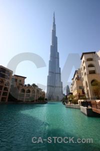 Dubai building western asia water sky.
