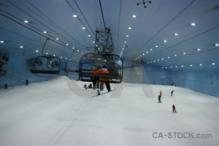 Dubai skiing ski middle east inside.