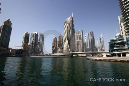 Dubai western asia sky middle east marina.